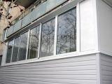 Застекленный балкон алюминием